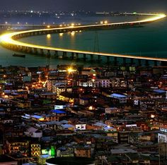 The Africa you don't see on T.V. Lagos mainland #Nigeria