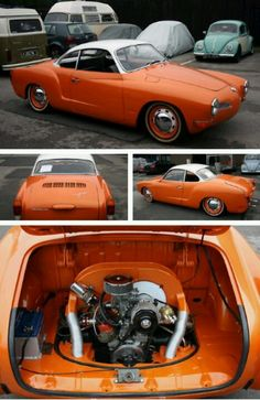 orange karmann ghia...Re-pin brought to you by agents of #Carinsurance at #HouseofInsurance in Eugene, Oregon