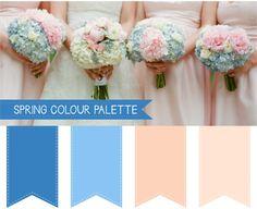 Spring Wedding Colour Palettes