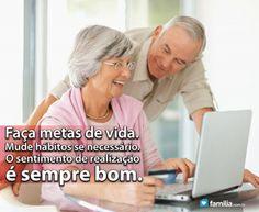Familia.com.br | #Buscando a #mudança de #habitos para #estabelecer #metas de #vida. #Crescimentopessoal