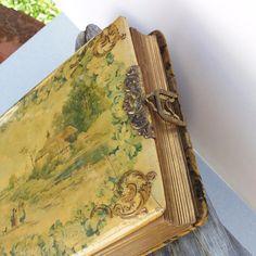 Victorian Photo Album Antique Celluloid