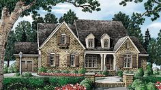 Really Really like this plan! (Jaci) Filmore Park - Home Plans and House Plans by Frank Betz Associates.would make bonus room into bedroom Southern Living House Plans, French Country House Plans, European House Plans, Cottage House Plans, French Country Cottage, Country Farmhouse Decor, Dream House Plans, Cottage Homes, House Floor Plans