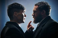ohfuckyeahcillianmurphy: 'You just look at Cillian Murphy and Tom Hardy in the same frame of film and you feel very privileged to have had this cast…' — Peaky Blinders producer Simon Maloney