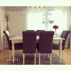 ... Wohnung Ikea ingatorp Esszimmer Wohnzimmer Landhausstil Shabby Vintage