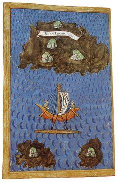 Antonio Pigafetta (1491-1534): Guam and native boats