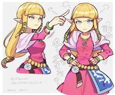 The Legend Of Zelda, Legend Of Zelda Memes, Legend Of Zelda Breath, Nintendo Characters, Anime Characters, Game Character, Character Design, Link And Midna, Drawing Heads