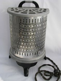 working 1930s vintage electric heater
