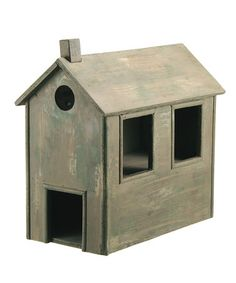 Take a look at this Beige Birdhouse by Barreveld International on #zulily today!