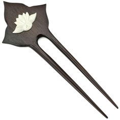 """Item Length:7"""" Sono Wood Carved Bone All natural materials Hand carved Traditional hair accessory Hairsticks have been in use for thousands of years and have been found in cultures of the Ancient Egyp"""
