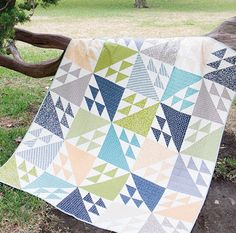 Tail Feathers Quilt Pattern! Brand new from It's Sew Emma!
