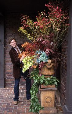 Wow!  Fabulous arrangement. Book Excerpt: A Time to Plant - Traditional Home