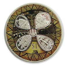 New Zealand and Samoa silver proof Friendship coin designed by Michel Tuffery Silver Coins For Sale, Gold And Silver Coins, Coin Design, Design Art, Numismatic Coins, Polynesian Art, Coin Art, Commemorative Coins, Proof Coins