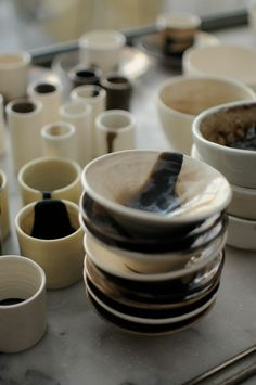 Kitchenware, Tableware, Cooking Gadgets, Ceramic Design, Lisbon, Coffee Shop, Clay, Objects, Pottery Ideas