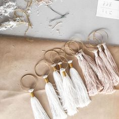 Happy International Women's Day! Thank you for supporting my small business and to all the amazing makers in this community! Here are some tassels being assembled perfect on your walls or doorknobs. Made with real brass and sustainably sourced fibers.