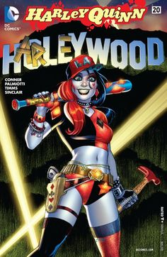 Harley Quinn's determined to take over Tinseltown in HARLEY QUINN #20 | DC Comics