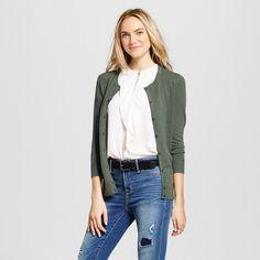 Women's Cardigans Moss (Green) XL - Merona