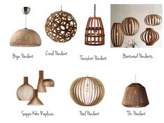Bring the beach to your home with wooden lighting | RevolvingDecor.com