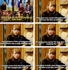 Oh my gosh this interview was so funny XD Taylor Swift Funny, Taylor Swift Quotes, Taylor Swift Pictures, Taylor Alison Swift, Live Taylor, Taylor Swift Interview, Olivia Benson, Meredith Grey, Swift 3