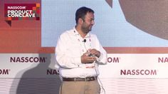 @NASSCOM Product conclave on November 7, 2014, Dhiraj Rajaram spoke on Mu Sigma's belief system & leveraging convergence in product, hardware, data & services