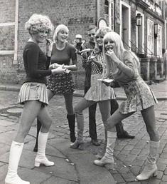 Those Were The Days, Vintage Boots, Hosiery, 1980s, Style, Fashion, Socks, Swag, Moda