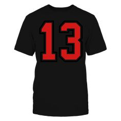 b871a131fa8 13 sports jersey football number T-Shirt Mr2f3q T-Shirt