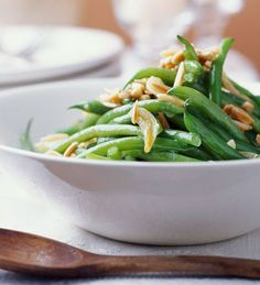 ... | Green Beans With Almonds, Green Beans Almondine and Parmesan