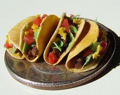 Quarter size tacos