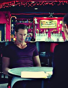 True Blood - Eric Northman, getting his things in order, written in a will, and obviously annoyed ...