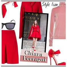 How To Wear Style Icon Chiara Ferragni Outfit Idea 2017 - Fashion Trends Ready To Wear For Plus Size, Curvy Women Over 20, 30, 40, 50