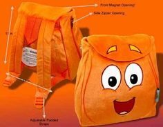 Dora The Explore : Diego Animal Resuer Plush Backpack by nick jr. $11.67. brand new