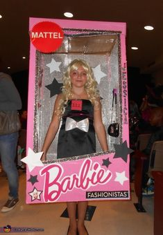 Barbie in a Box Costume - 2013 Halloween Costume Contest via @costumeworks