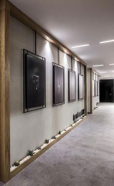 A look into Elissa Stampa& sleek Istanbul office - Officelovin & # 39 - . - A look into Elissa Stampa& sleek Istanbul office – Officelovin & # 39 – - Office Wall Design, Office Walls, Office Interior Design, Office Interiors, Home Interior, Interior Ideas, Hallway Office, Interior Lighting, Office Entrance
