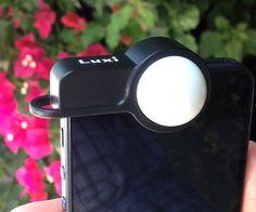 Luxi   iPhone light meter attachment