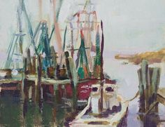 "Mary's Paintings: ""Foggy Creek"""