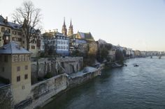 Old town Basel @ winter