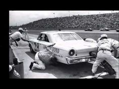 Vintage 1960's NASCAR Stock Car clips - YouTube