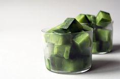 Matcha (Green Tea) Latte Ice Cube Recipe