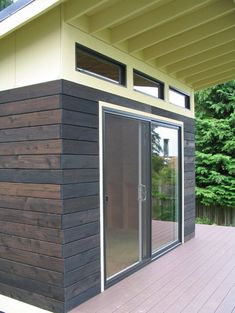 A Modern Shed - modern - garage and shed - seattle - J C Stoneman Home Improvement