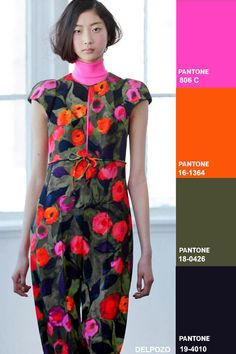 TRENDS - Colors fashion trend forecast: Fall-Winter 2014/2015 key color combos from TREND COUNCIL