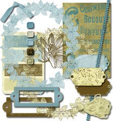 Digital scrapbooking embellishments ..buy once and print over and over again.