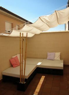 TOLDO RETRACTIL HOMEMADE