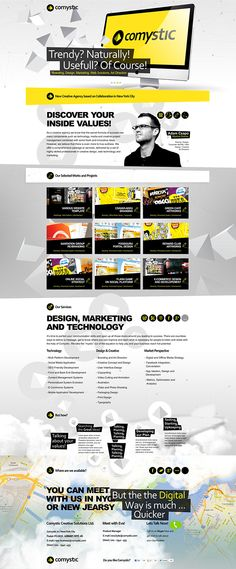 Comystic website by Tadamster
