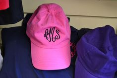 50 Local Holiday Gifts under $50. Monogrammed ball cap at Two Chicks & Co for $22 (price includes monogram).