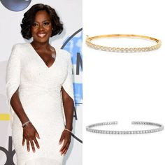 Viola Davis sizzled in diamond bracelets by Levian at the American Music Awards recently. How's your diamond bracelet game? Fortunoff can take you to the next level. Click link here for more.