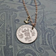 Heart In San Francisco Necklace now featured on Fab.