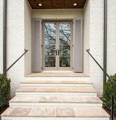 New Ideas House Exterior Brick And Stone Stairs New Ideas House Exterior Brick And Stone Stairs Image Size: 429 x 441 Source Exterior Stairs, Exterior Paint Colors For House, Paint Colors For Home, Exterior Doors, Interior And Exterior, Exterior Design, Ranch Exterior, Stucco Exterior, Tile Stairs