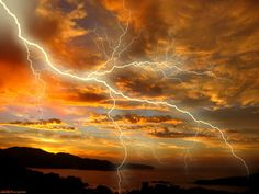 Storms Brew Thunder Lightning