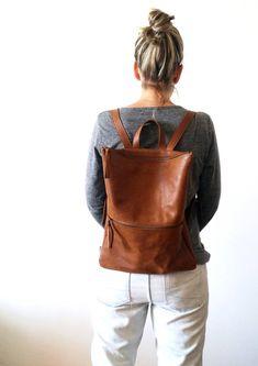 by Bags backpackSource by Bags backpack Backpack ,brown leather, Laptop bag Minimalist unisex leather backpack/shoulder bag Best Laptop Backpack, Leather Laptop Backpack, Backpack Bags, Leather Backpacks, Messenger Bags, Teen Backpacks, Duffle Bags, Laptop Bags, School Backpacks