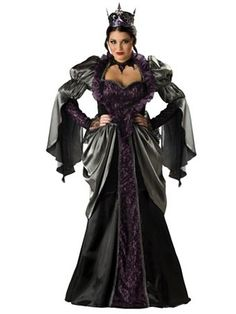 Elite Plus Wicked Queen Womens Costume | Wholesale Renaissance Halloween Costume for Plus Sizes