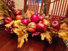 Make a Fall Centerpiece - The Elegant Occasion Food Blog, Recipes, Planning Notes, Entertaining